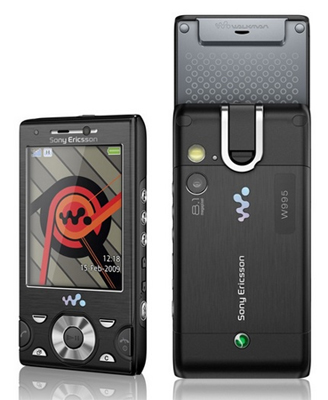 Sony Ericsson W995 Sim Free Unlocked Mobile Phone