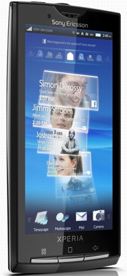 Sony Ericsson Xperia X10 Sim Free Unlocked Mobile Phone